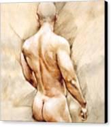 Nude 40  Canvas Print