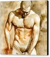 Nude 43 Canvas Print