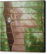 Nude Forest Canvas Print
