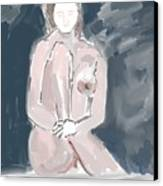 Nude Model 4 Canvas Print