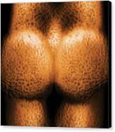 Nudist - Just Cheeky Canvas Print by Mike Savad