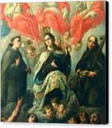 Nuestra Senora Del Carmen Canvas Print