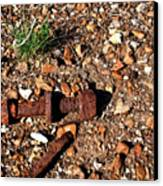 Nuts And Bolts Rusted Canvas Print by Douglas Barnett