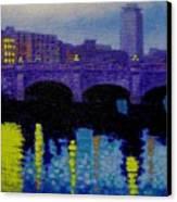 O Connell Bridge - Dublin Canvas Print