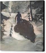 O Tannenbaum Canvas Print by Elizabeth Carr