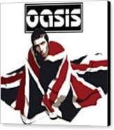 Oasis No.01 Canvas Print by Caio Caldas