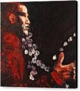 Obama Speaks We Listen Canvas Print