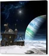 Observatory Canvas Print by Cynthia Decker