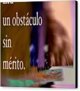 Obstacle-version 2016 James A. Warren Canvas Print
