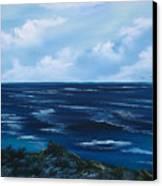 Ocean Canvas Print by Cynthia Adams