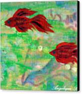 Ocean Layers Canvas Print