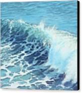 Ocean's Might Canvas Print