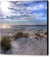 Ocracoke Winter Dunes II Canvas Print by Dan Carmichael
