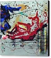 October Fever Canvas Print
