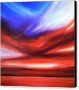 October Sky V Canvas Print