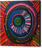 Ocular Energy Path Canvas Print by Daina White