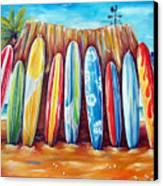 Off-shore Canvas Print by Deb Broughton