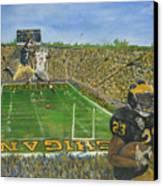 Ohio State Vs. Michigan 100th Game Canvas Print