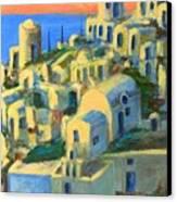 Oia. Santorini Canvas Print