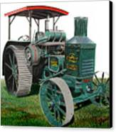 Oil Pull Tractor Canvas Print