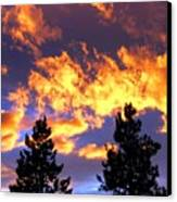 Okanagan Sunset Canvas Print