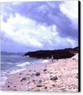 Okinawa Beach 15 Canvas Print