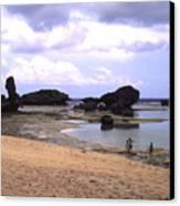 Okinawa Beach 18 Canvas Print