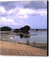 Okinawa Beach 3 Canvas Print