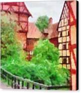 Old Aarhus Canvas Print