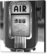 Old Air Pump Canvas Print by Arni Katz