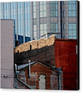 Old And New Close Together Canvas Print
