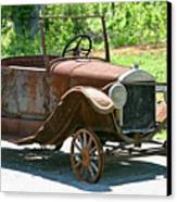 Old Antique Vehicle Canvas Print by Douglas Barnett