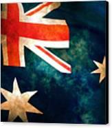 Old Australian Flag Canvas Print
