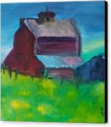 Old Barn And Shed  Canvas Print
