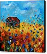 Old Barn  Canvas Print by Pol Ledent