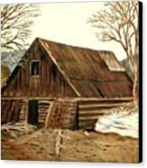 Old Barn Series 1 Canvas Print