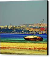 Old Barque Canvas Print by Chaza Abou El Khair