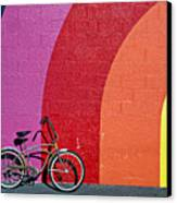 Old Bike Canvas Print by Garry Gay