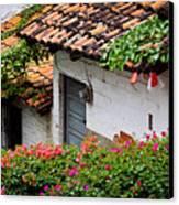 Old Buildings In Puerto Vallarta Mexico Canvas Print by Elena Elisseeva