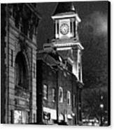 Old City Hall Canvas Print by Wade Aiken