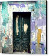 Old Door 4 By Darian Day Canvas Print by Mexicolors Art Photography