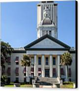 Old Florida Capitol Canvas Print by Frank Feliciano