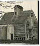 Old Grainery Canvas Print by Bryan Baumeister