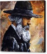 Old Man Canvas Print by Emerico Imre Toth