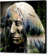 Old Man Of The Woods Canvas Print by Paul Sachtleben
