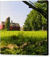 Old New England Farm Canvas Print