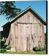 Old Shed Canvas Print by Lauri Novak