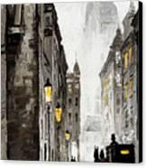 Old Street Canvas Print by Yuriy  Shevchuk