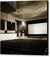 Old Theater 2 Canvas Print by Marilyn Hunt