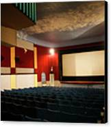 Old Theater Interior 1 Canvas Print by Marilyn Hunt